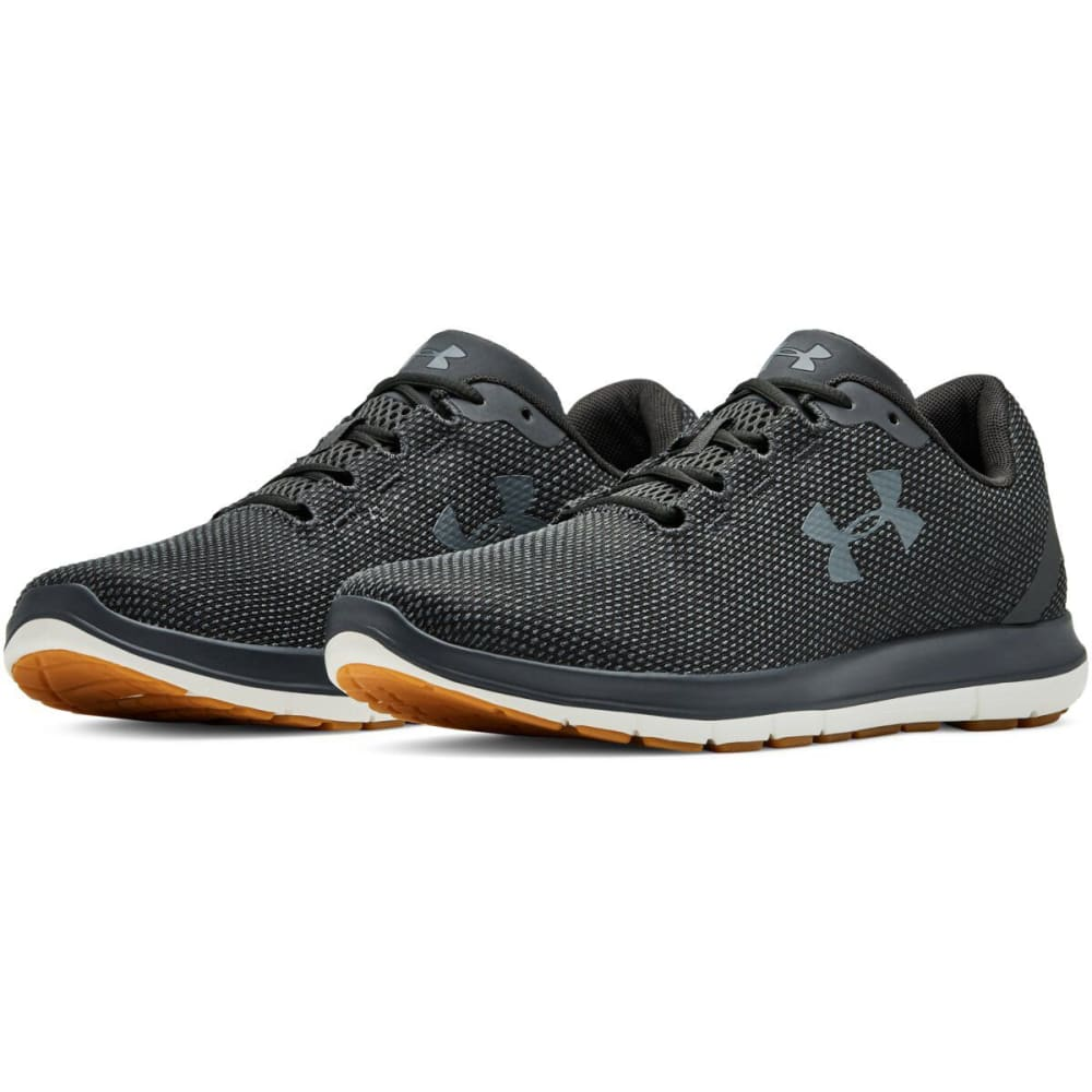 UNDER ARMOUR Men's Remix Running Shoes - JET GRAY-102
