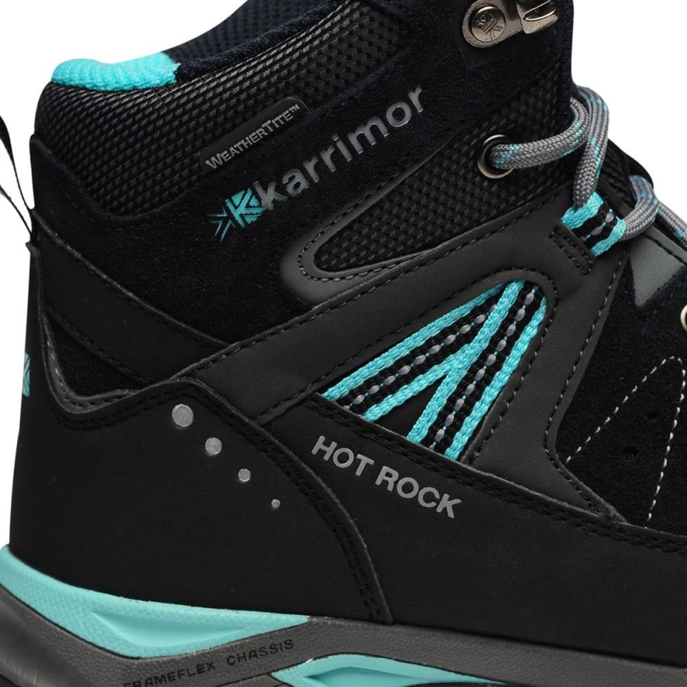 KARRIMOR Kids' Hot Rock Waterproof Hiking Boots - NAVY/BLUE