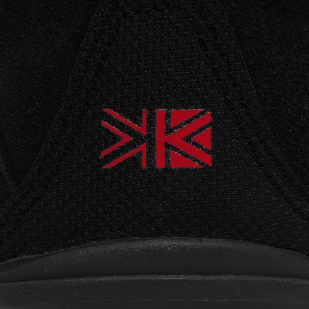KARRIMOR Big Boys' Mount Mid Waterproof Hiking Shoes - BLACK/RED