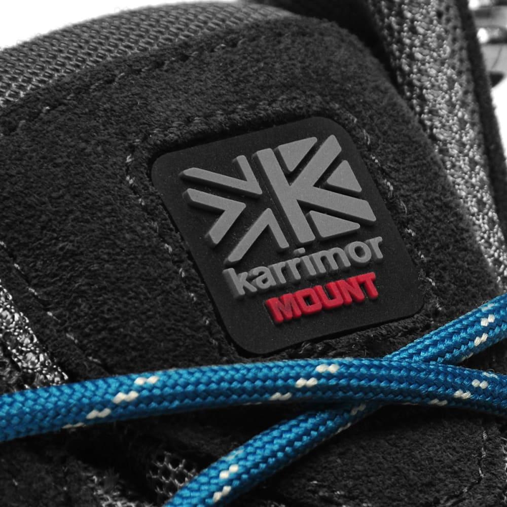 KARRIMOR Big Boys' Mount Mid Waterproof Hiking Shoes - GREY/TEAL