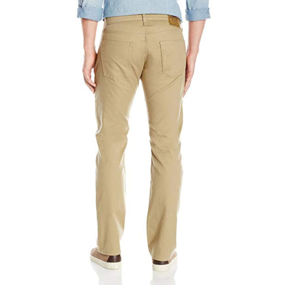 SIGNATURE by Levi Strauss & Co. Gold Label Men's Straight Jeans - Discontinued Style - B KHAKI 0019