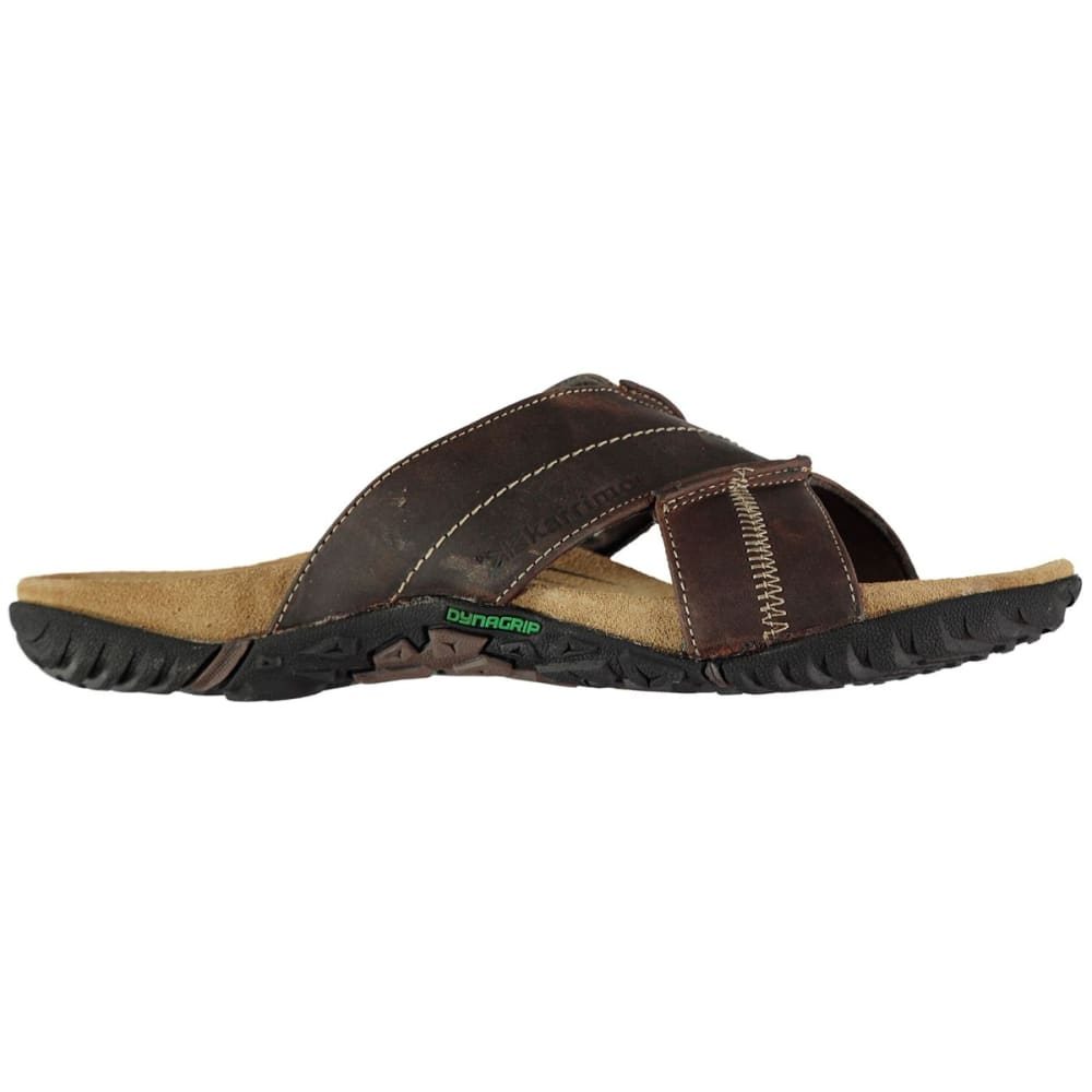 KARRIMOR Men's Lounge Slide Sandals - BROWN