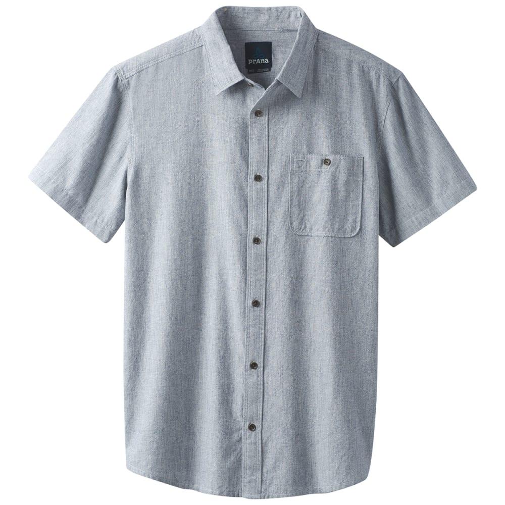 PRANA Men's Jaffra Woven Short-Sleeve Shirt S