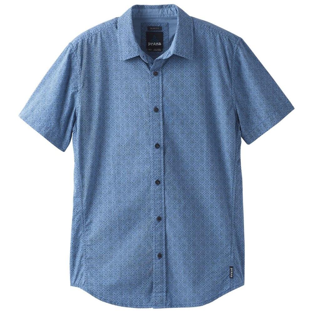 PRANA Men's Ulu Woven Short-Sleeve Shirt S