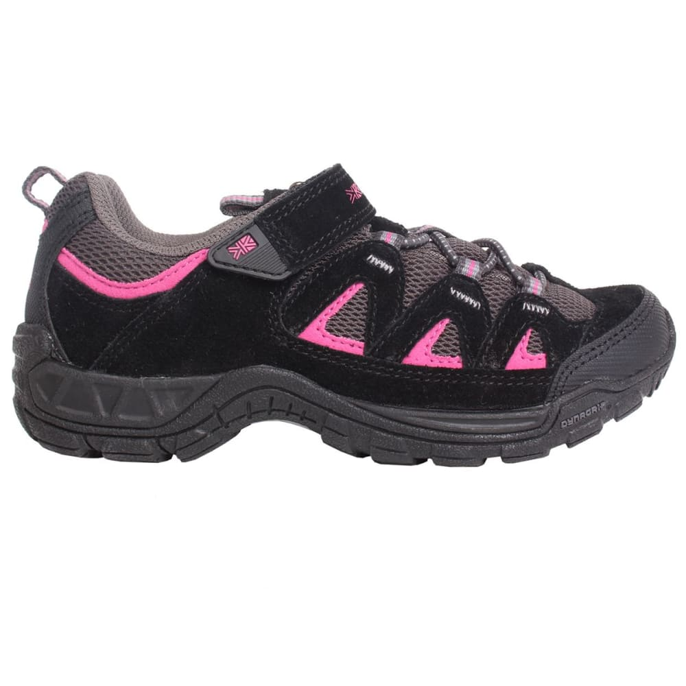 KARRIMOR Kids' Summit Low Hiking Shoes - BLACK/PINK
