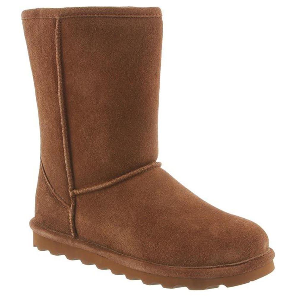 BEARPAW Women's Elle Short Boots, Wide 8