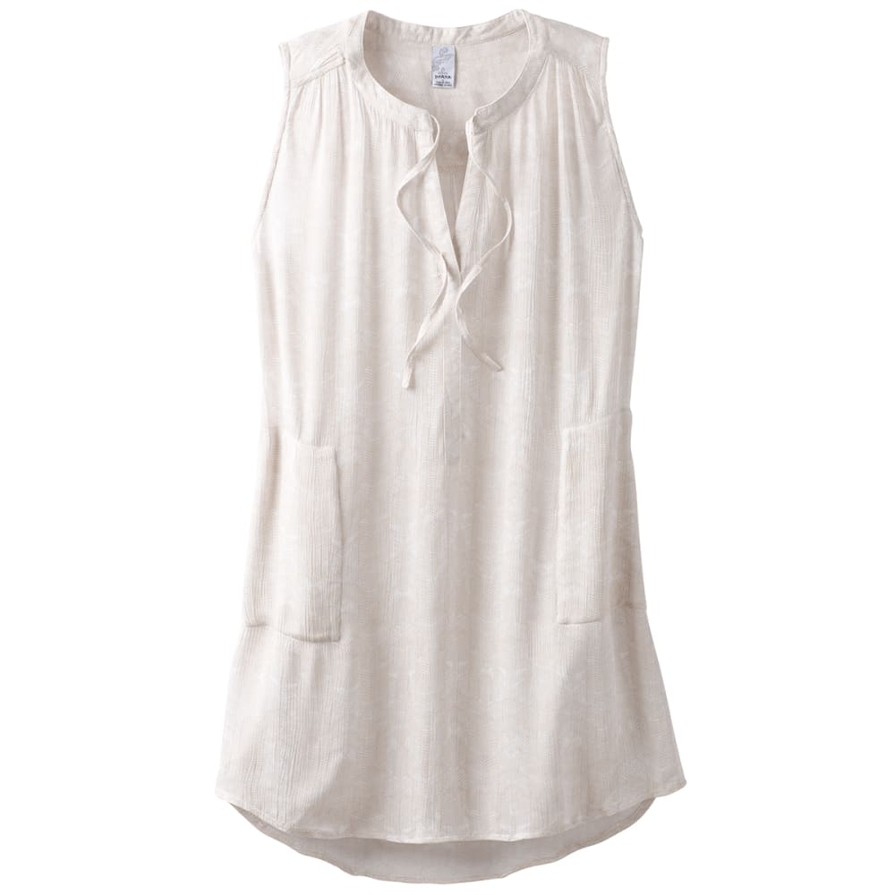 PRANA Women's Natassa Crinkled Sleeveless Tunic Top XS