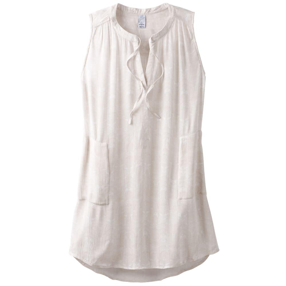 Prana Women's Natassa Crinkled Sleeveless Tunic Top - Size M