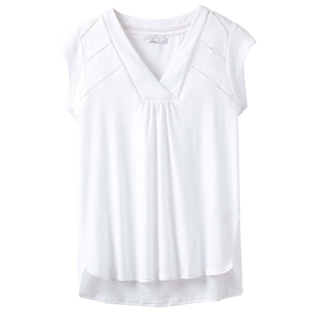 PRANA Women's Novelle Short-Sleeve Top XL