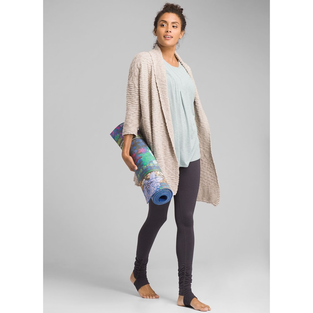 PRANA Women's Pearson Sweater - PEBBLE GREY