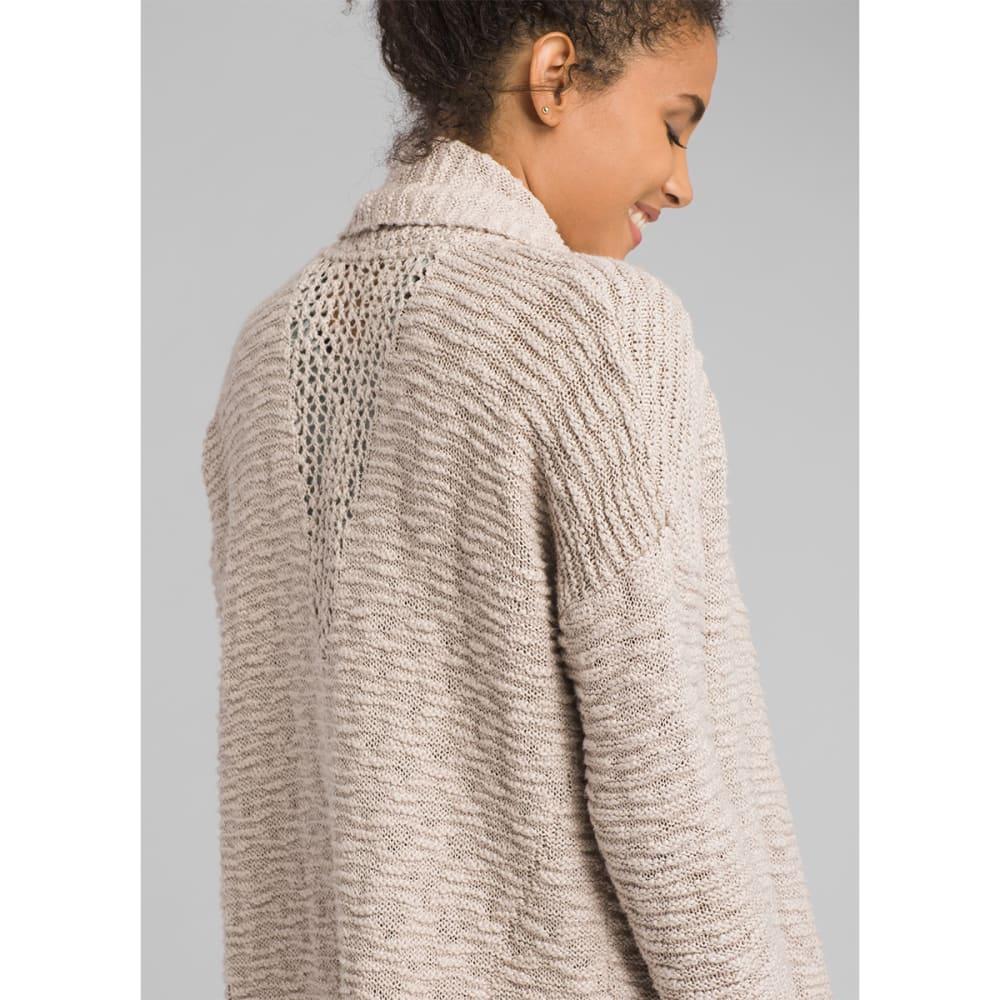 PRANA Women's Pearson Sweater - PEBBLE GREY