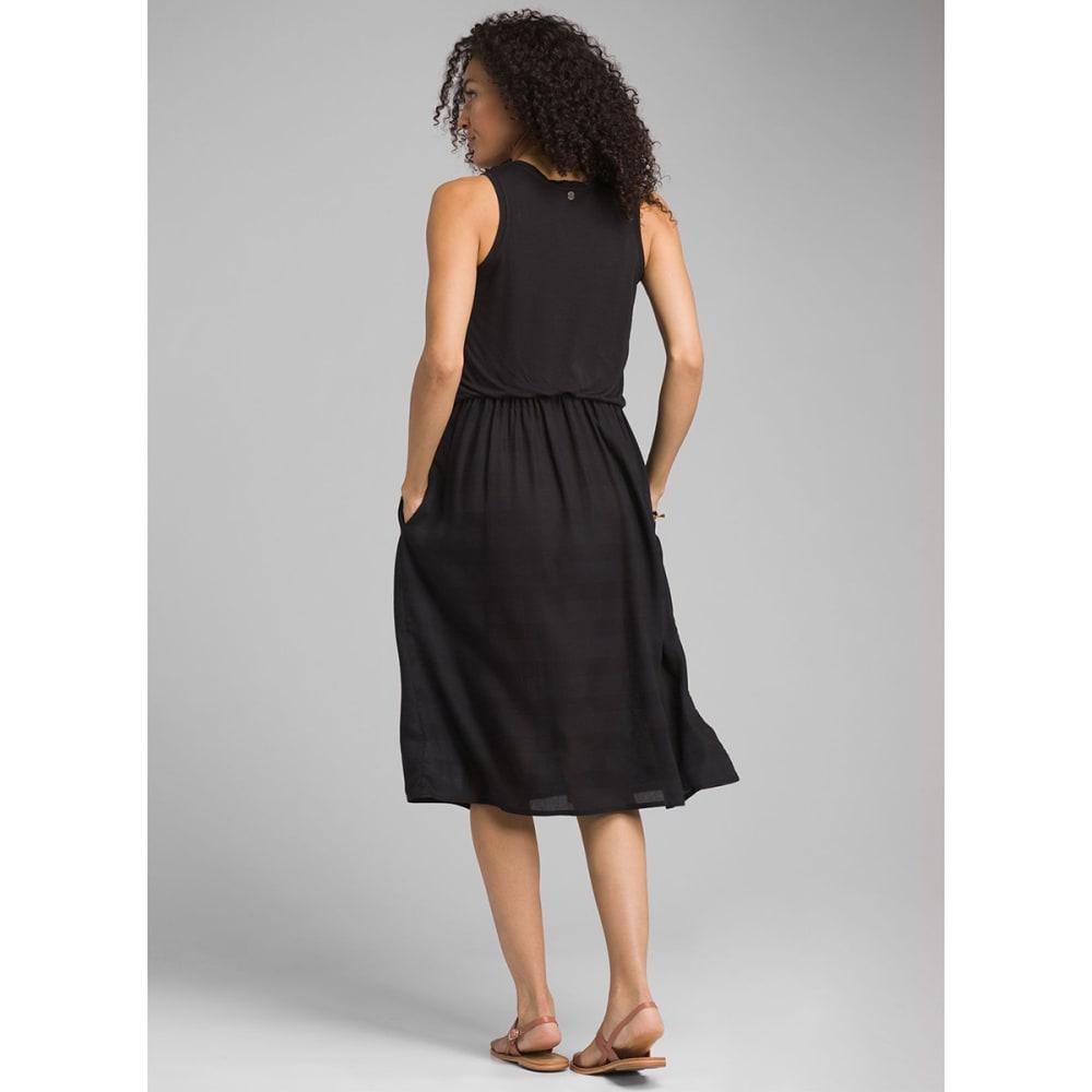 PRANA Women's Perry Midi Dress - BLACK