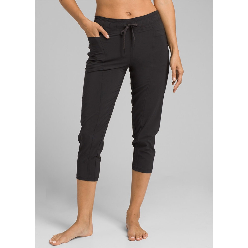 PRANA Women's Leonora Capri Pants - BLACK