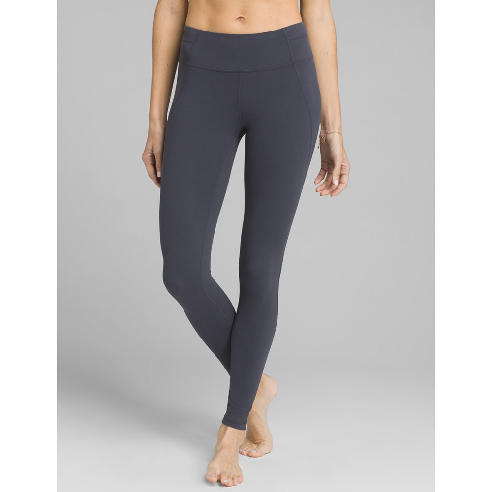 PRANA Women's Momento 7/8-Length Leggings - COAL