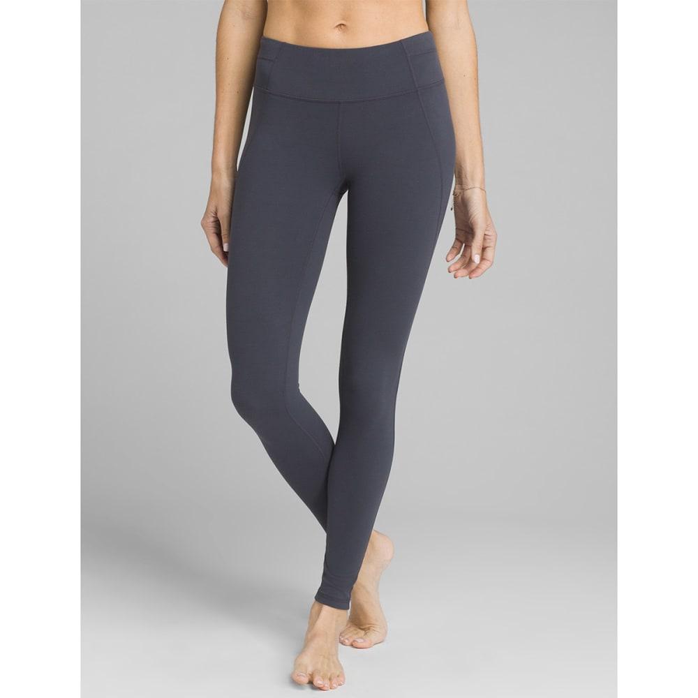 PRANA Women's Momento 7/8-Length Leggings - COAL