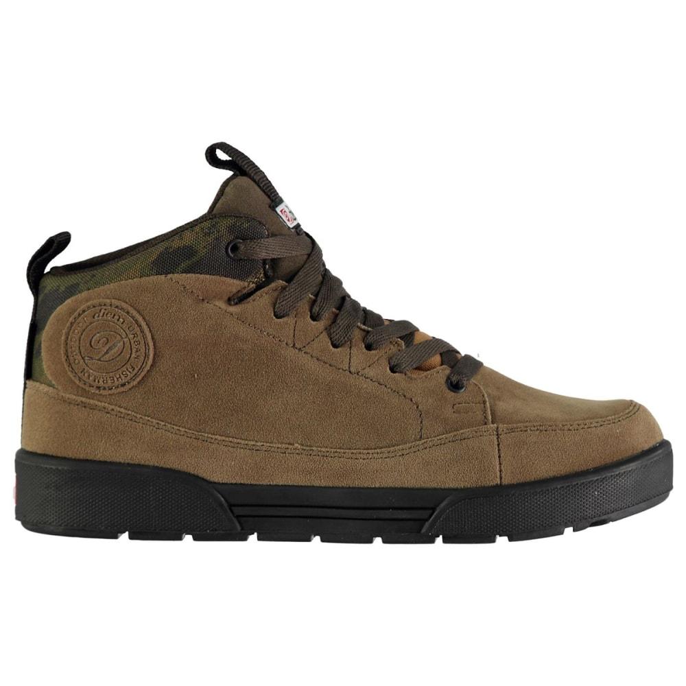 DIEM Men's Waterproof Mid Fishing Shoes 8
