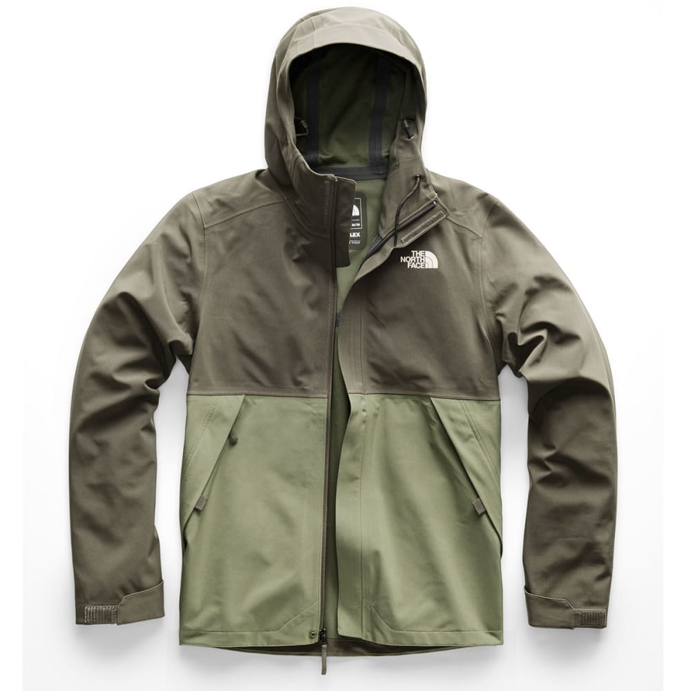 THE NORTH FACE Men's Apex Flex DryVent Jacket - 3NL-TAUPE/GREEN