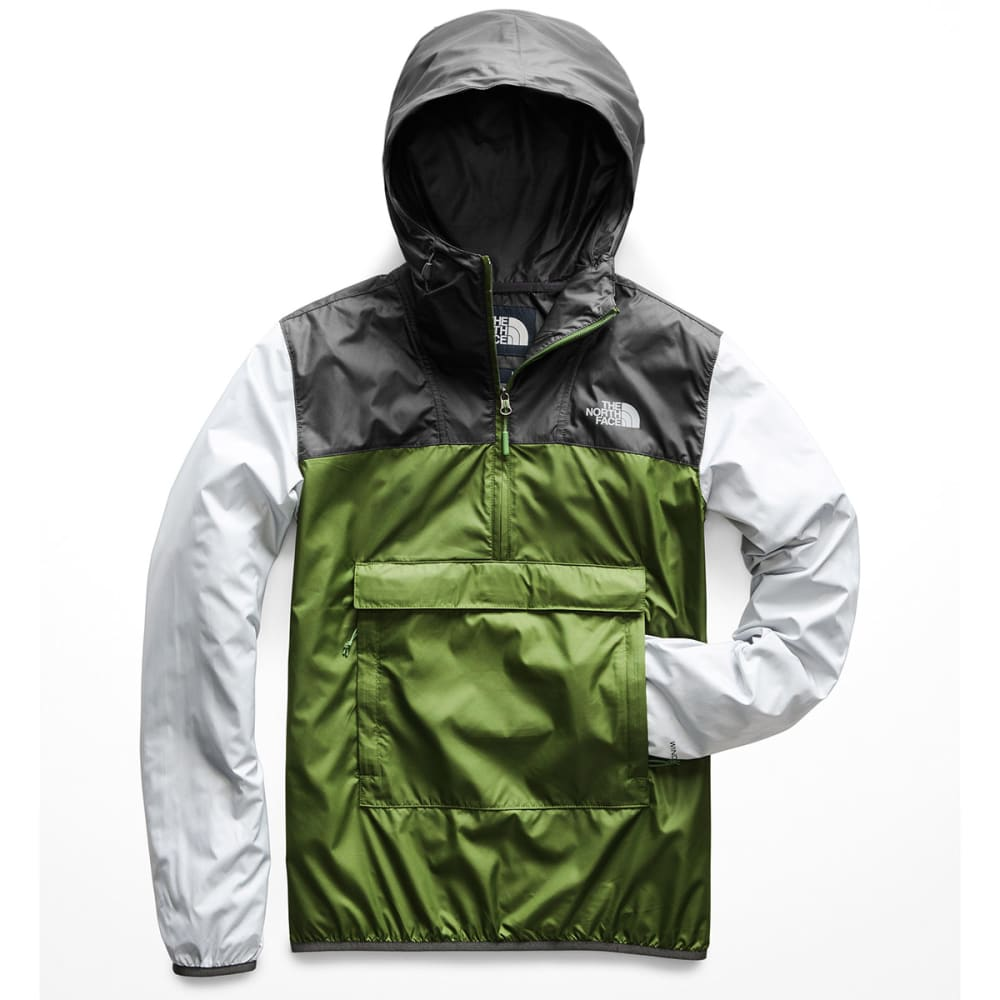 THE NORTH FACE Men's Fanorak Jacket - AV4-GREEN/GREY