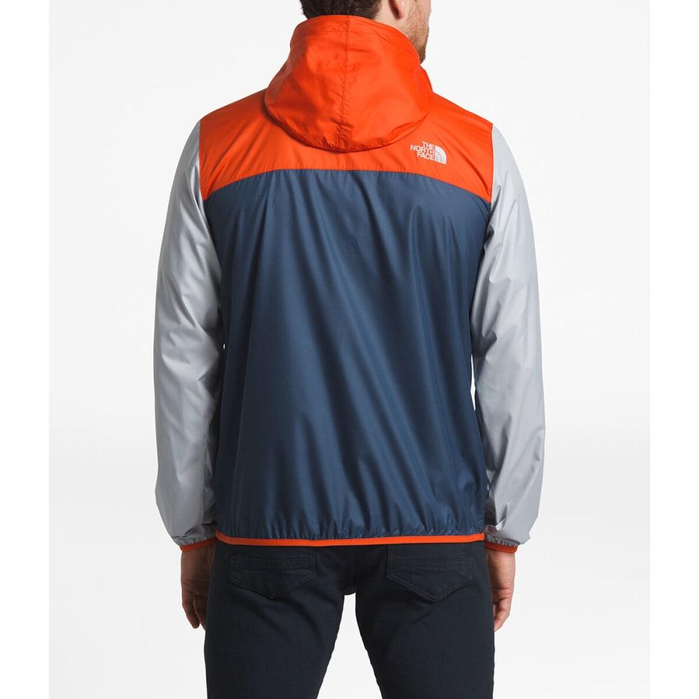 THE NORTH FACE Men's Fanorak Jacket - AV5-SHADY BLUE/ORANG