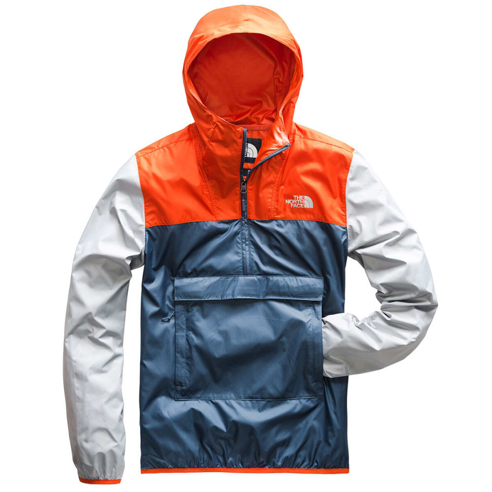 THE NORTH FACE Men's Fanorak Jacket - AV5-SHADY BLUE/ORANG