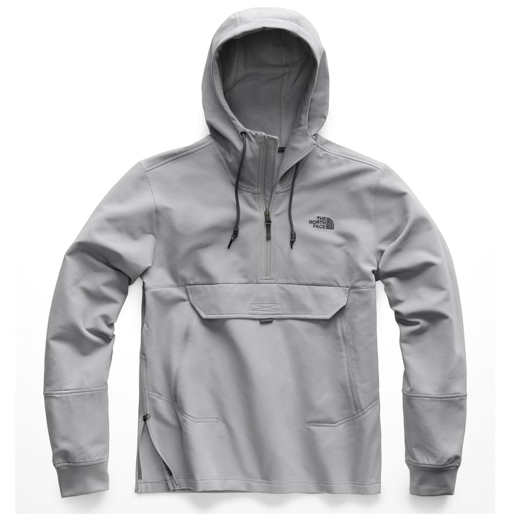 THE NORTH FACE Men's Tekno Ridge Pullover Hoodie - V3T- MID GREY