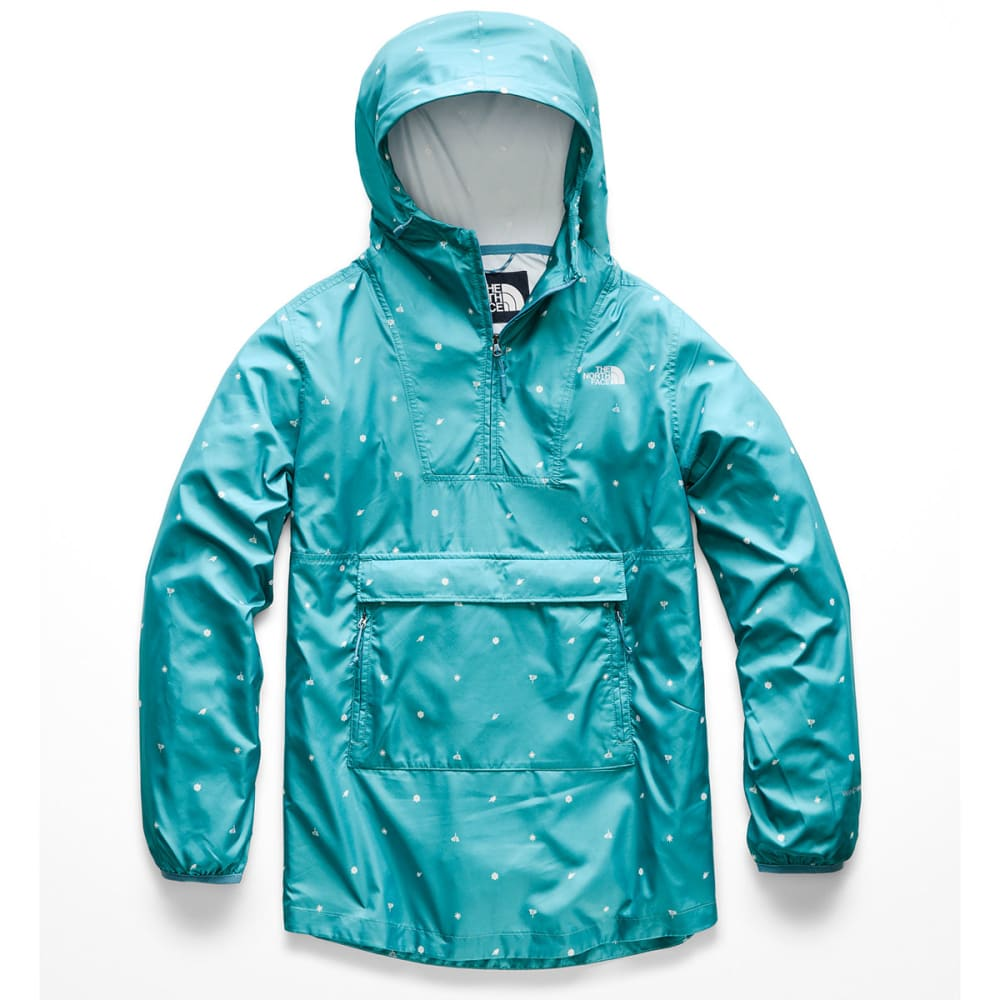 THE NORTH FACE Women's Printed Fanorak Jacket - 9WY-STORM BLUE