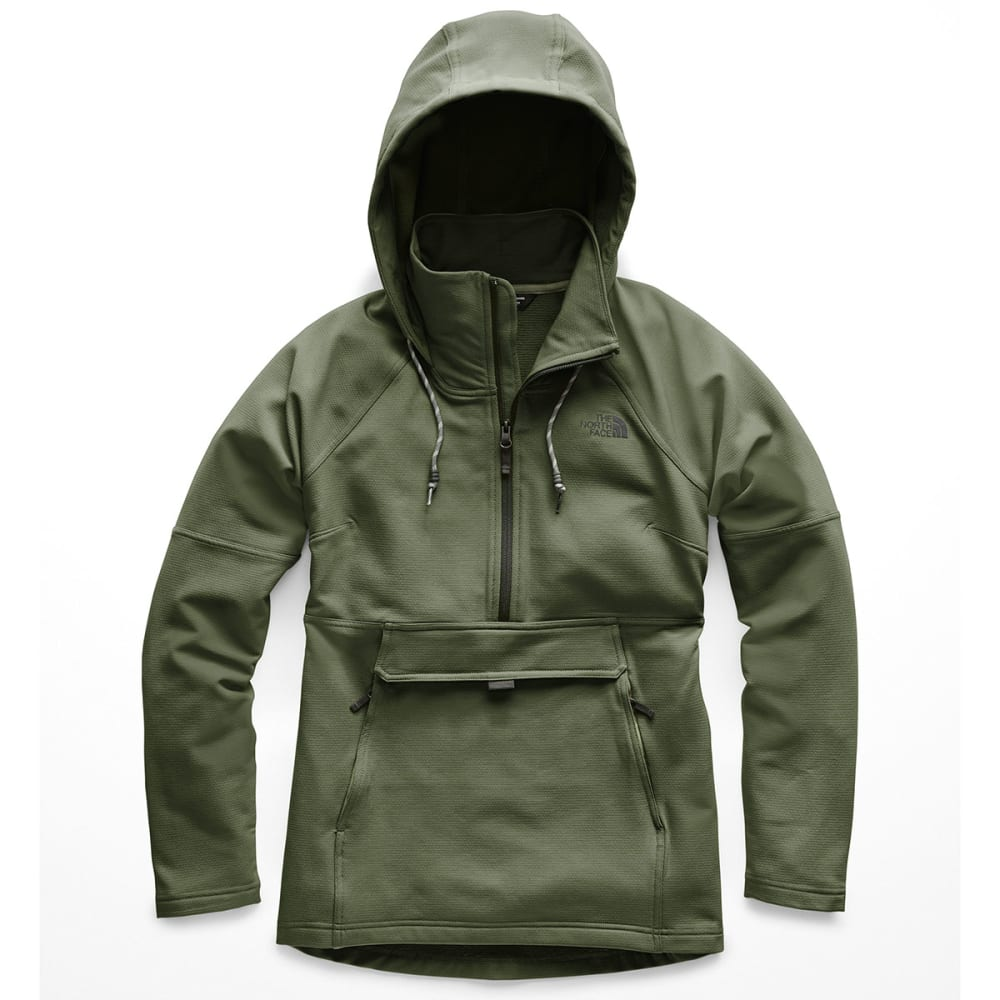 THE NORTH FACE Women's Tekno Ridge Pullover Hoodie - 3NF- FOUR LEAF CLOVE