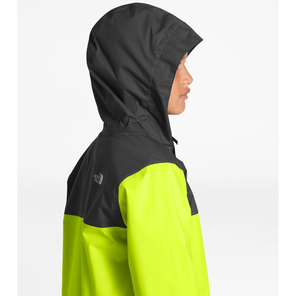 THE NORTH FACE Boys' Resolve Reflective Jacket - 6XO- LIME GREEN