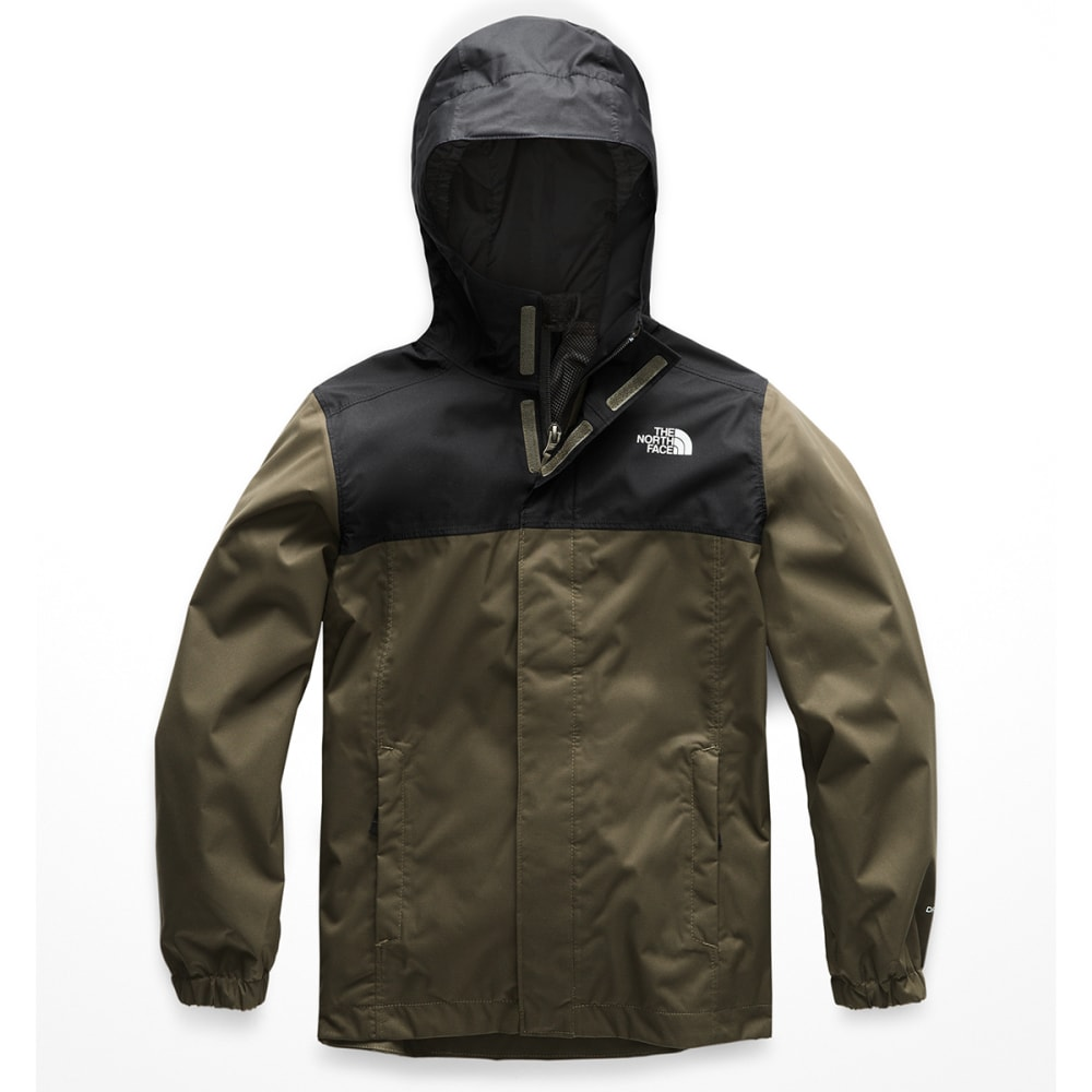 THE NORTH FACE Boys' Resolve Reflective Jacket - 21L NEW TAUPE GREEN
