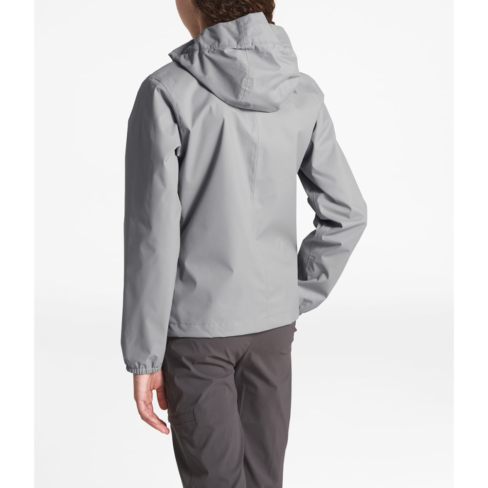 THE NORTH FACE Girls' Resolve Reflective Jacket - V3T-MID GREY