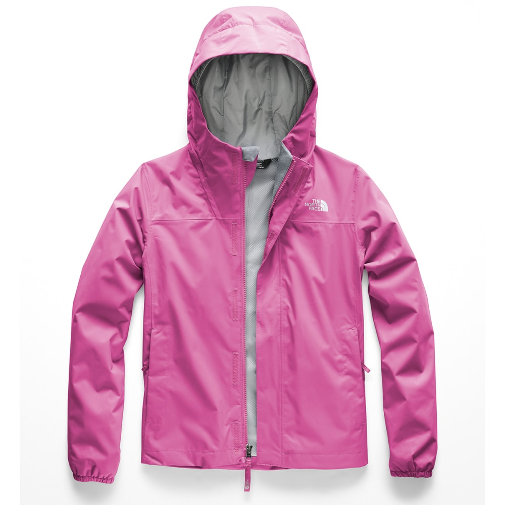 THE NORTH FACE Girls' Resolve Reflective Jacket - A7M- WISTERIA PURPLE