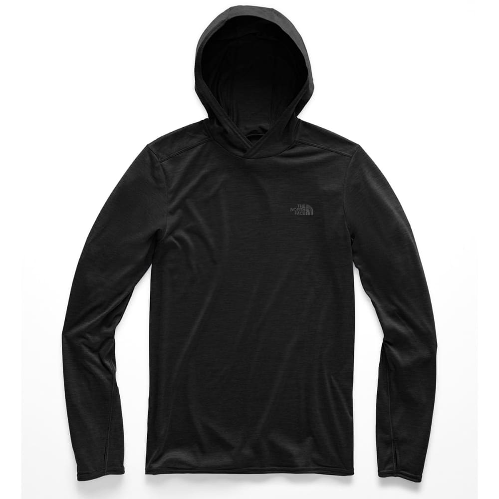 THE NORTH FACE Men's Hyperlayer Pullover Hoodie - KS7 TNF BLACK HEATHE