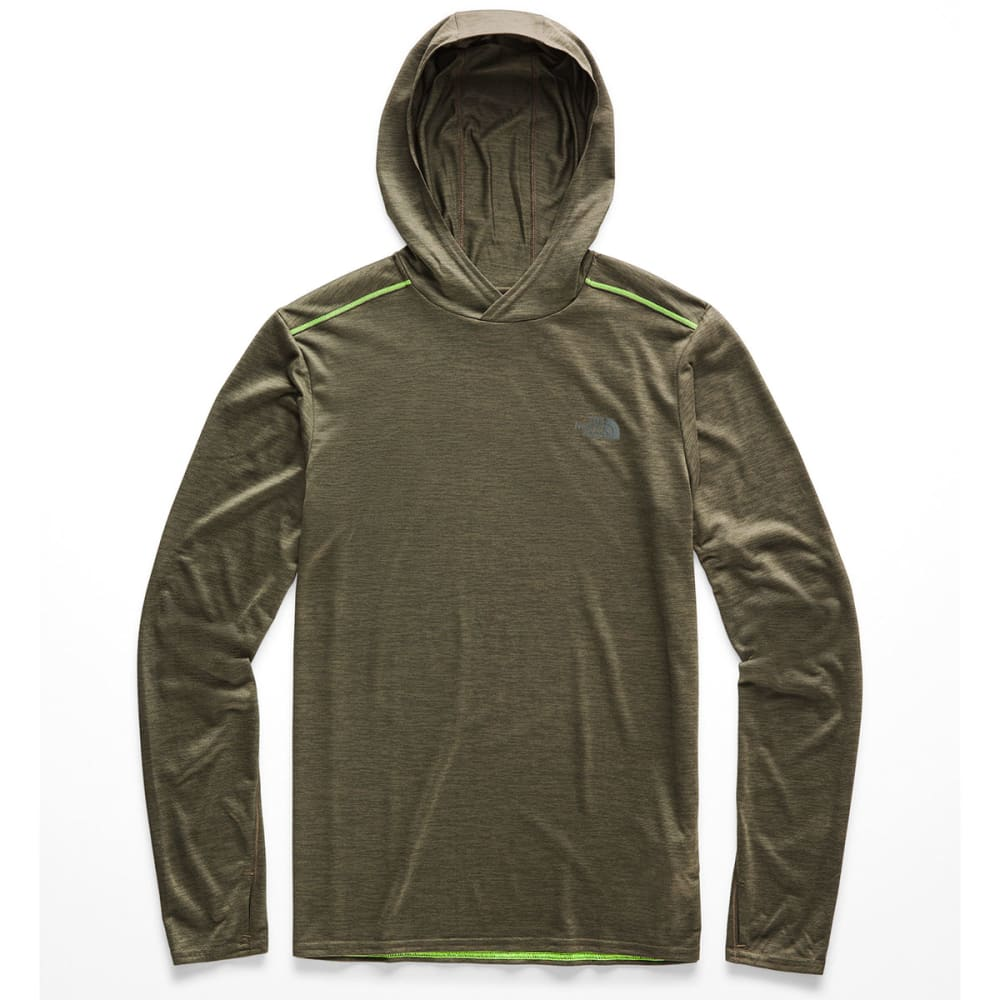 THE NORTH FACE Men's Hyperlayer Pullover Hoodie - 7DO-TAUPE/GRN HEATHE