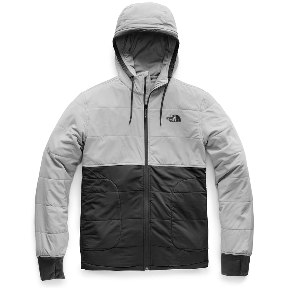 THE NORTH FACE Men's Mountain Sweatshirt 2.0 Full-Zip Hoodie - G3S APT GRY/HIG RISE