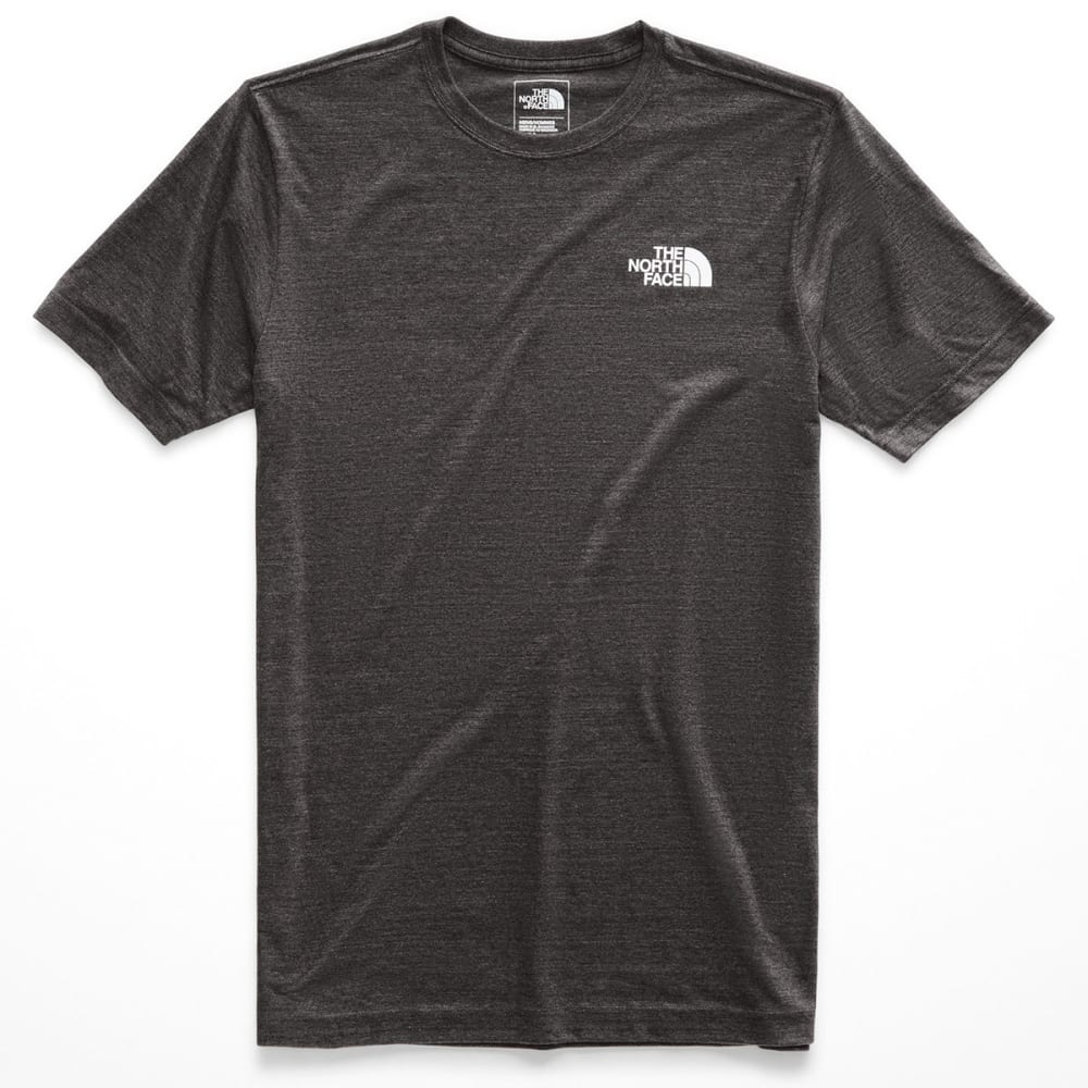 THE NORTH FACE Men's Pony Wheels Tri-Blend Short-Sleeve Tee - DYZ-TNF DK GRY
