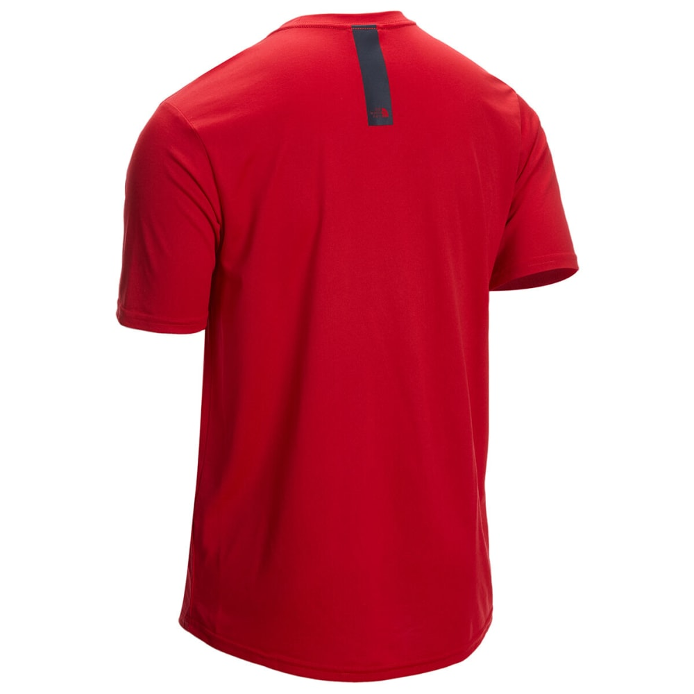 THE NORTH FACE Men's Half Dome Reaxion Short-Sleeve Tee - 682-TNF RED