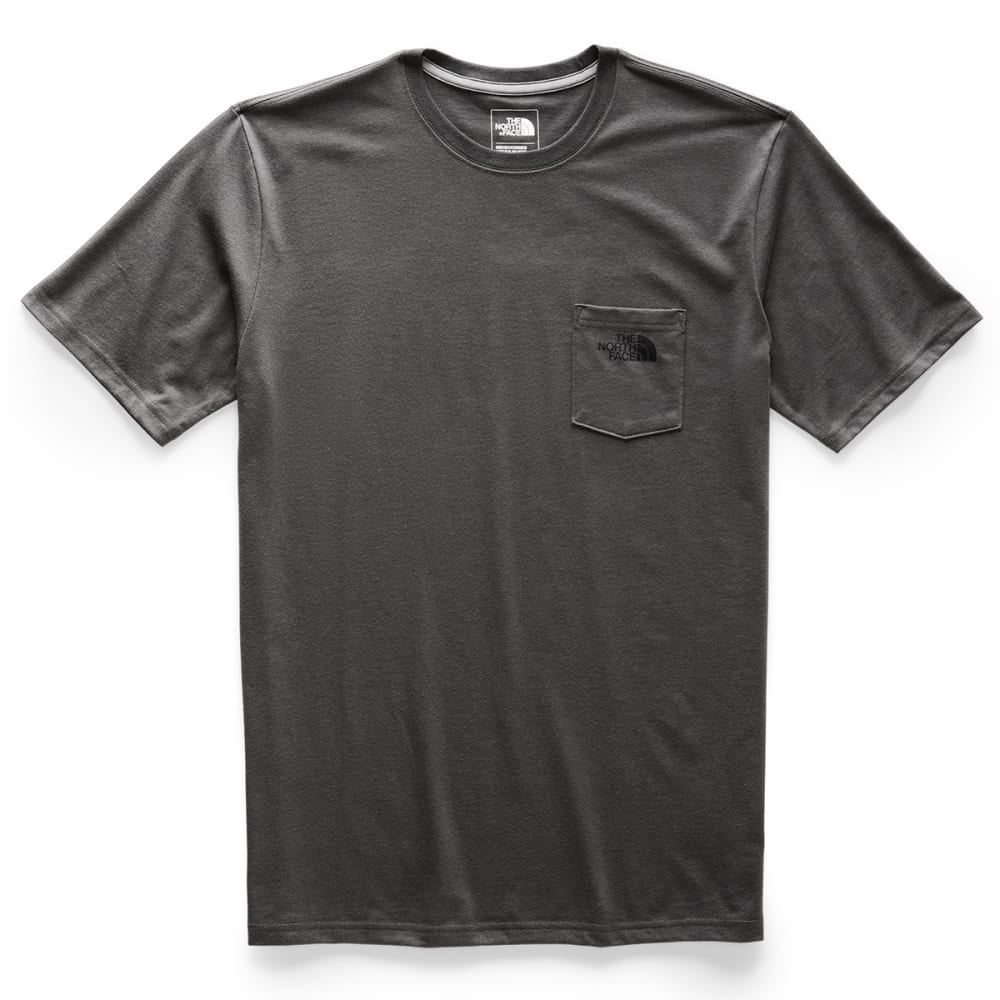 THE NORTH FACE Men's Bottle Source Pocket Short-Sleeve Tee - OC5 ASPHALT GREY