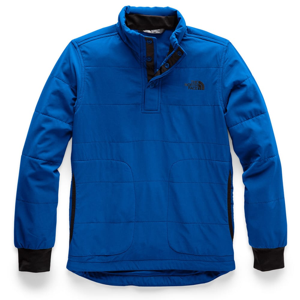 THE NORTH FACE Boys' Mountain Quarter Snap Neck Sweatshirt - WXN TURKISH SEA