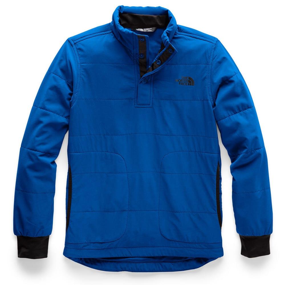 The North Face Boys' Mountain Quarter Snap Neck Sweatshirt - Size S
