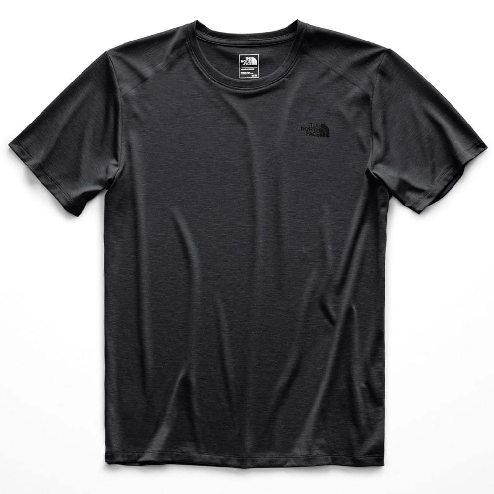 THE NORTH FACE Men's HyperLayer FD Crew Short-Sleeve Tee - DYZ TNF DK GRY HEATH