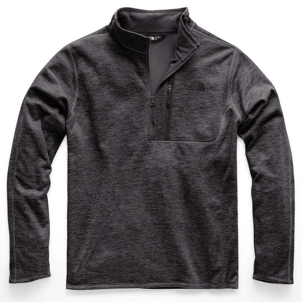 THE NORTH FACE Men's Canyonlands Half Zip Pullover - DYZ TNF DARK GREY