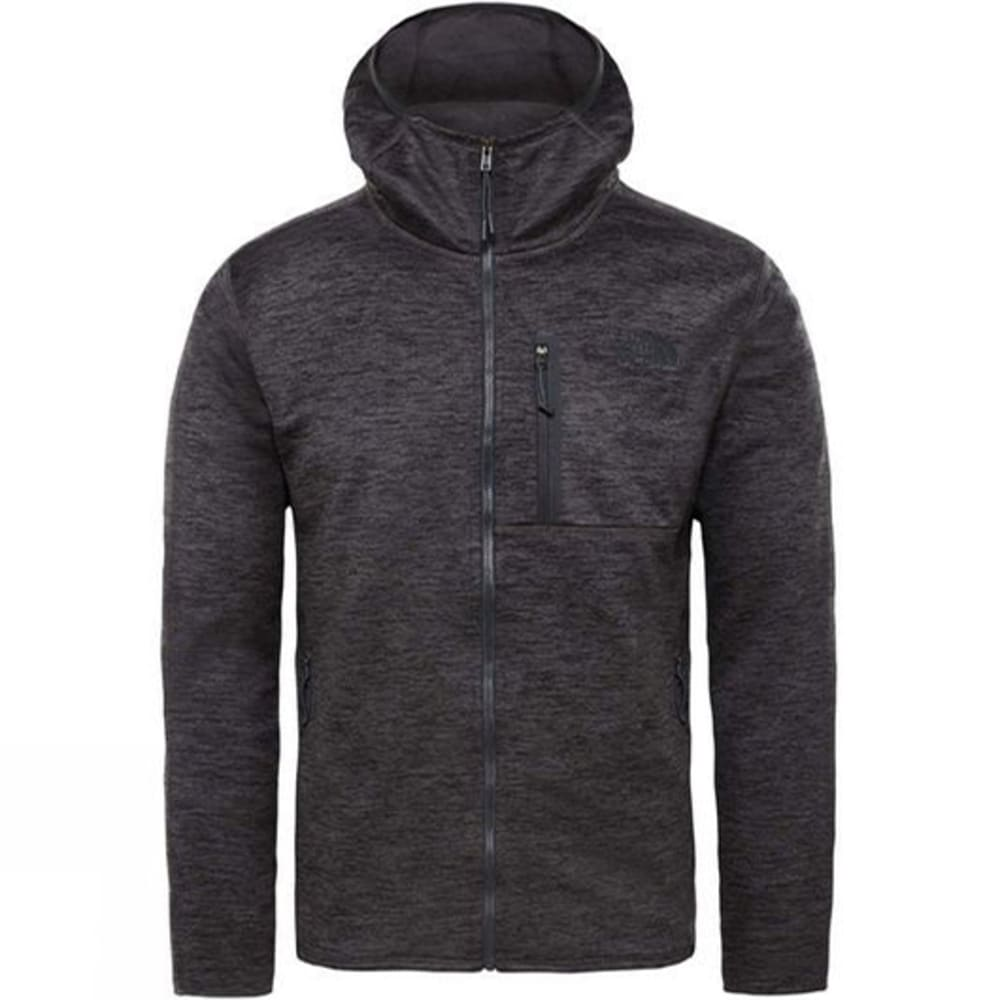 THE NORTH FACE Men's Canyonlands Full-Zip Hoodie - DYZ- DK GRY HEATHER