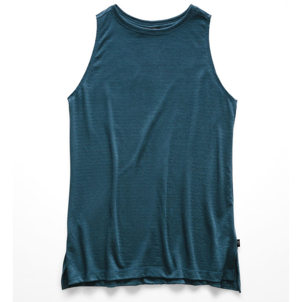 THE NORTH FACE Women's Emerine Tank Top - BN3-BLUE WING TEAL