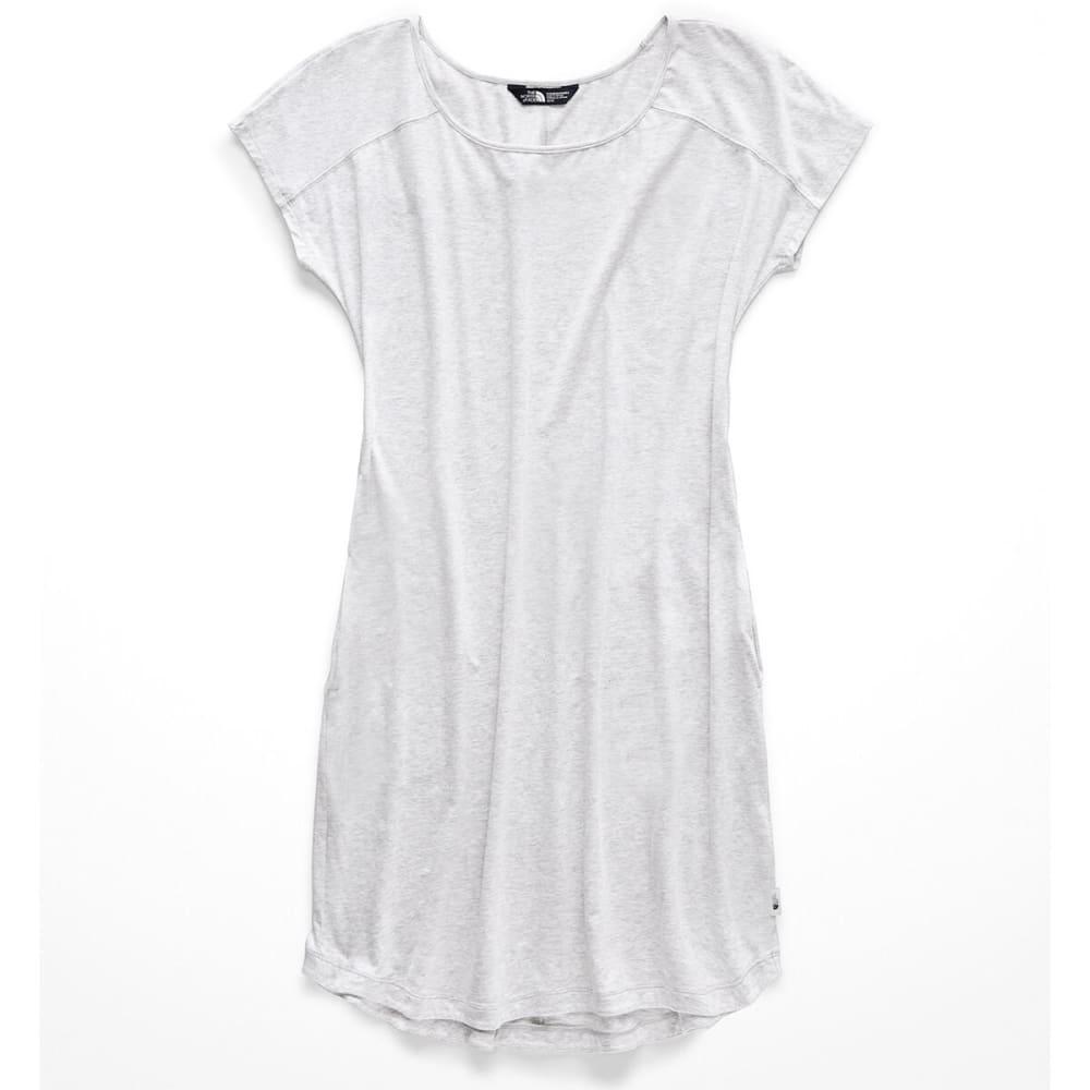 THE NORTH FACE Women's Loasis Tee Dress - DYX TNF LT GREY HEAT
