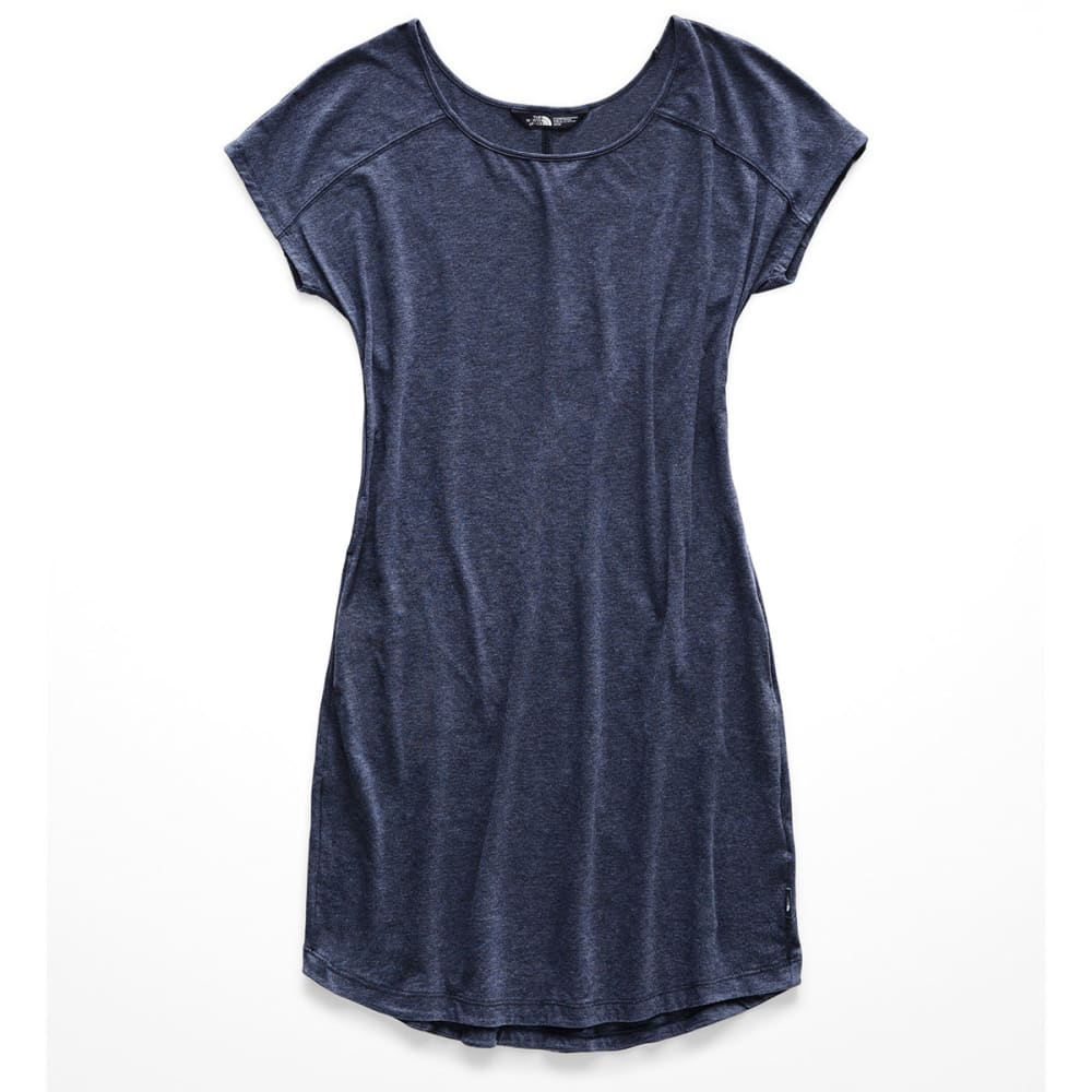 THE NORTH FACE Women's Loasis Tee Dress - AVM URBAN NAVY HEATH