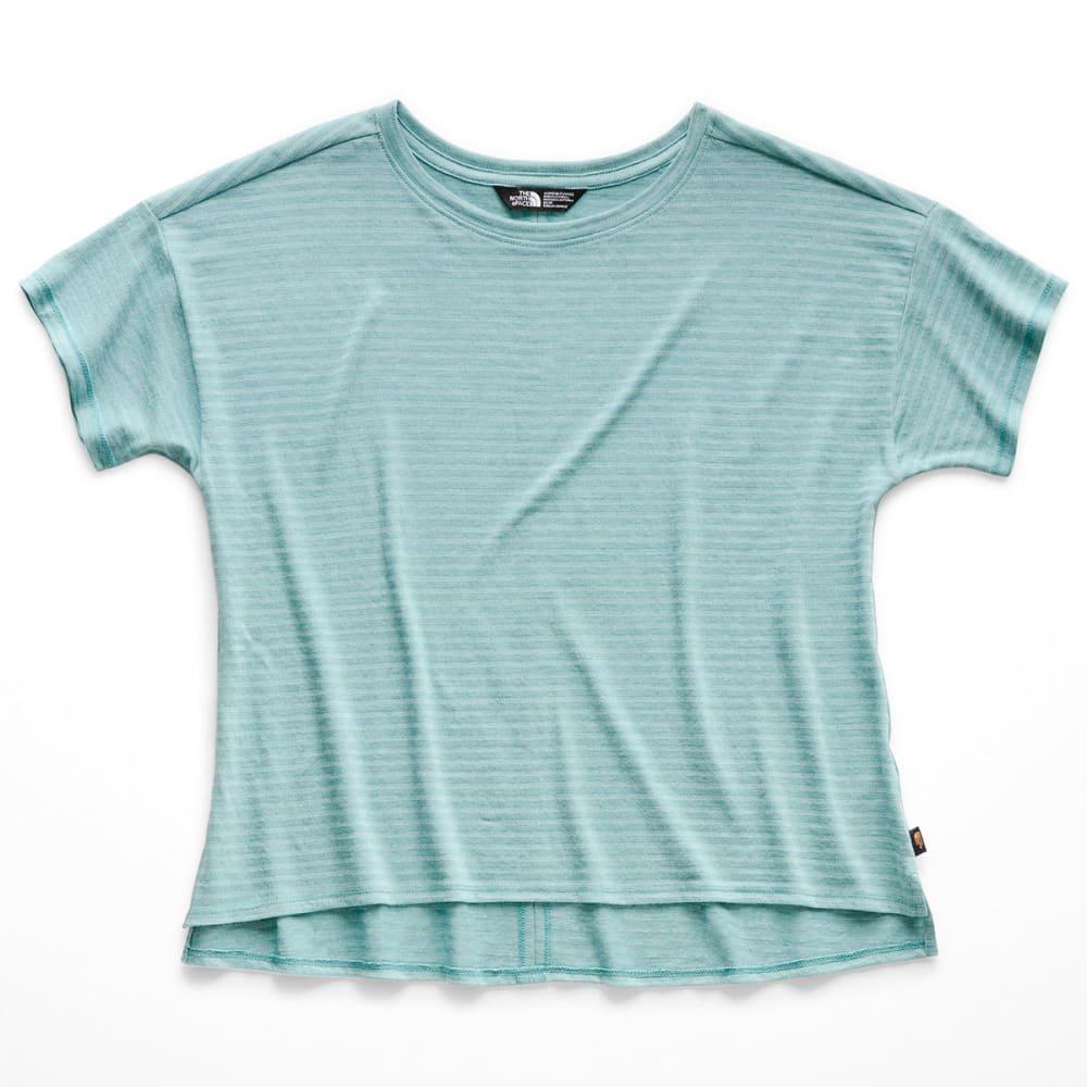 THE NORTH FACE Women's Emerine Short-Sleeve Top - BM2 CANAL BLUE DESER