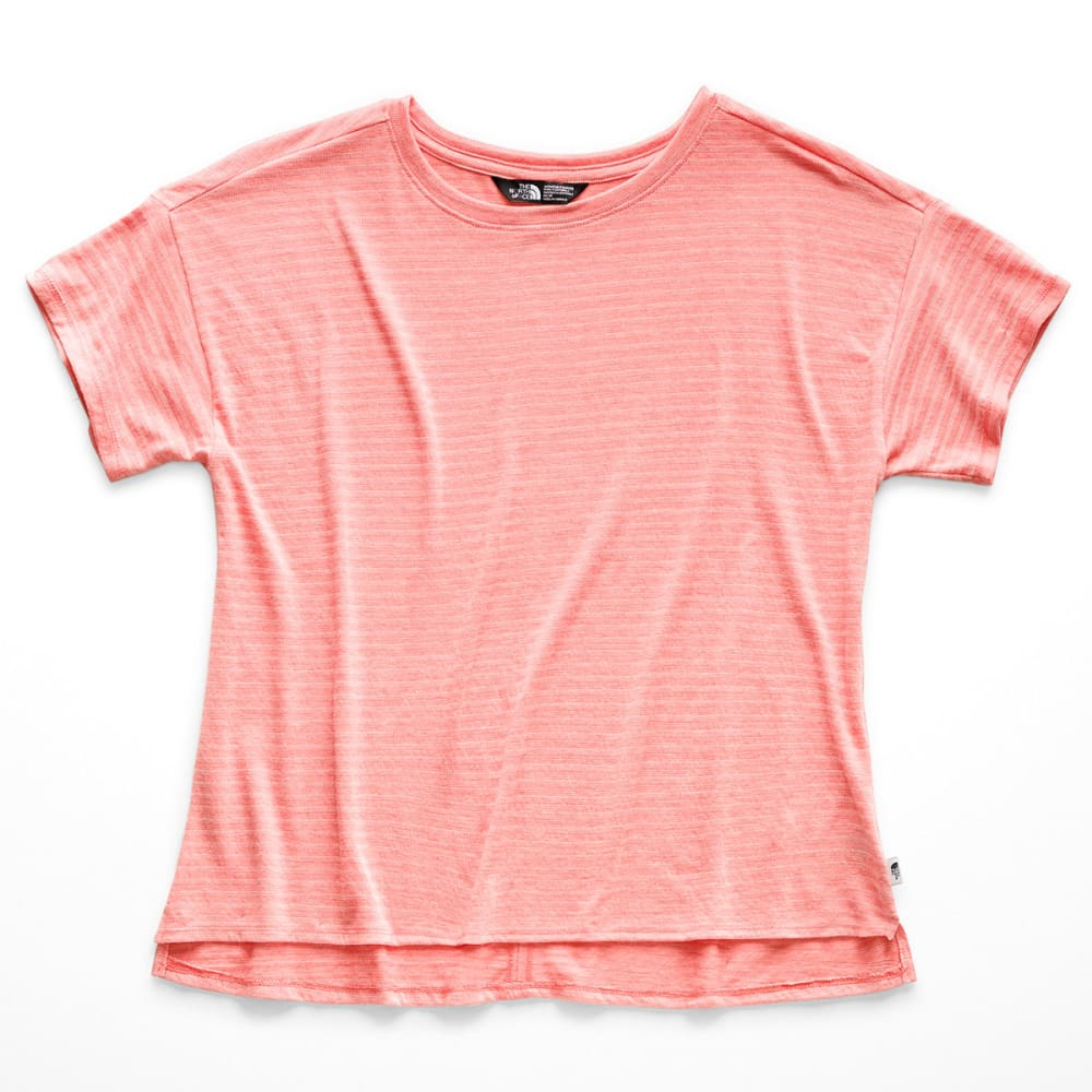 THE NORTH FACE Women's Emerine Short-Sleeve Top - BL8 SPICED CORAL