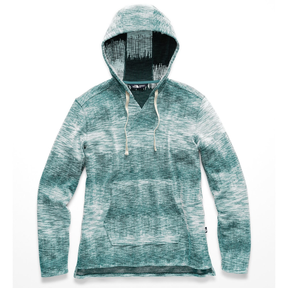 THE NORTH FACE Women's Wells Cove Pullover Hoodie - J3B STORM BLUE HEATH