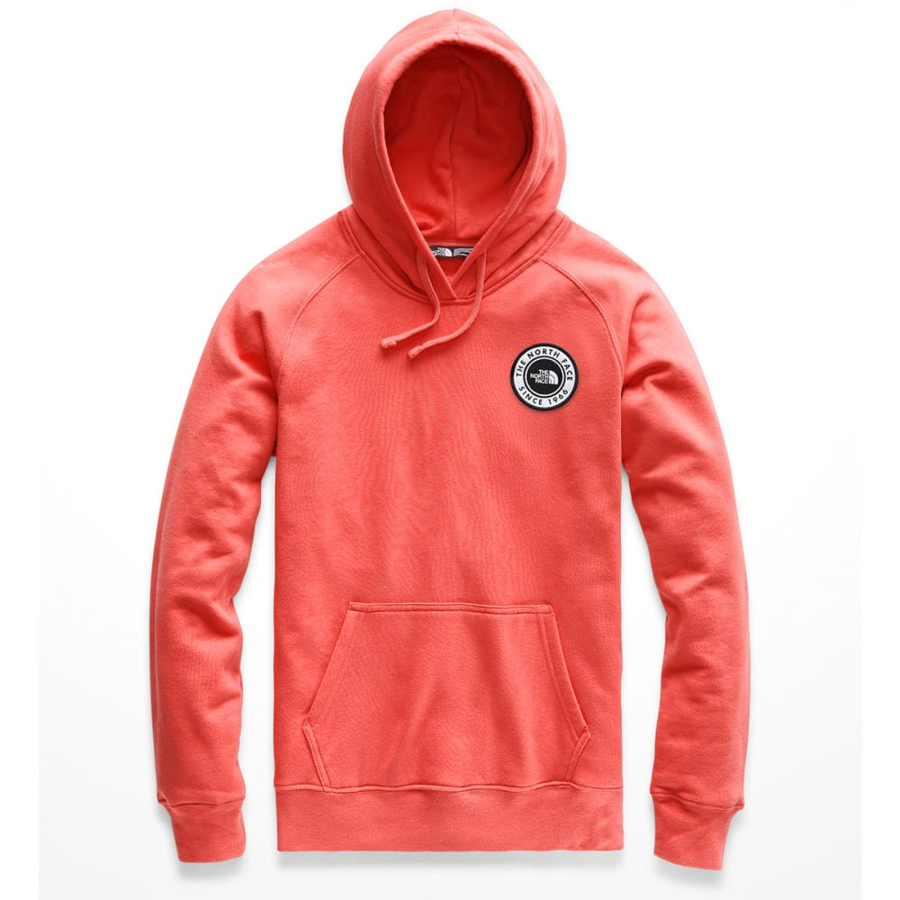 THE NORTH FACE Women's Bottle Source Pullover Hoodie - HEY SPICED CORAL