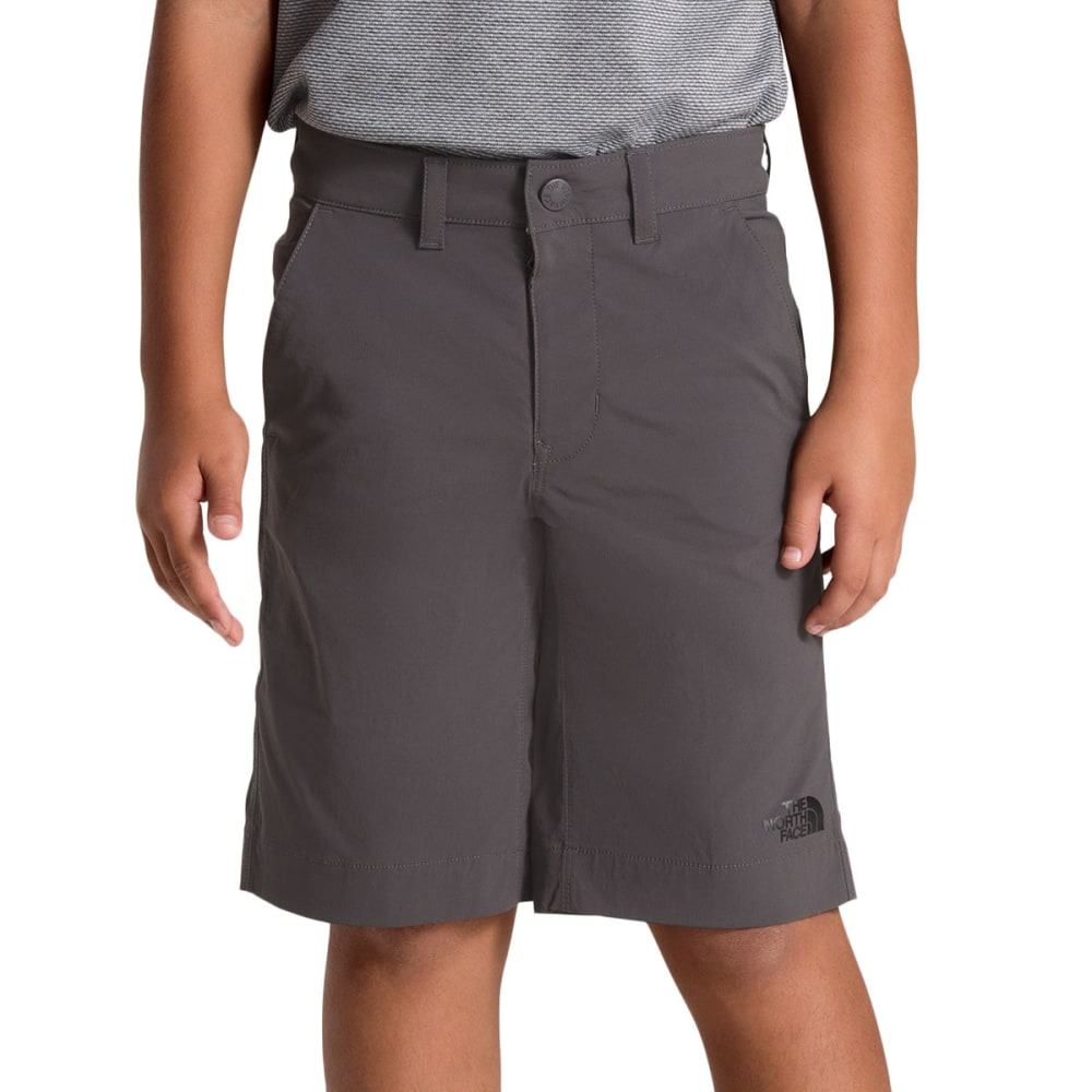 THE NORTH FACE Boys' Spur Trail Shorts - 044 GRAPHITE GREY
